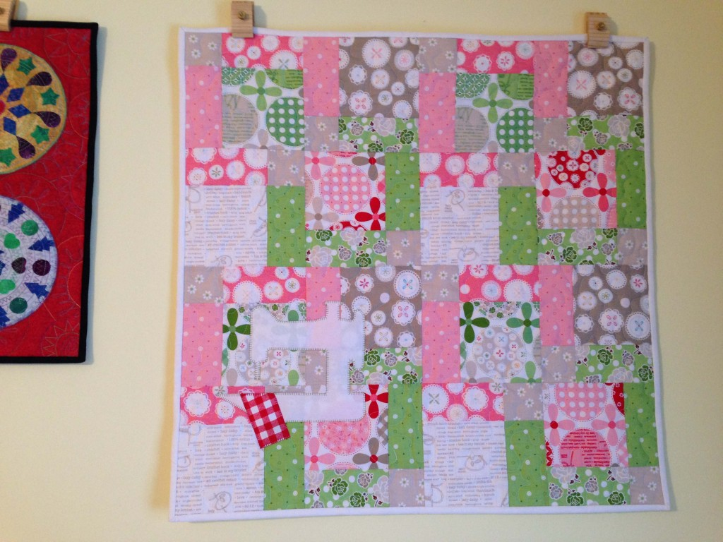 finished model quilt