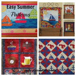 summer fun patterns, quilt patterns,